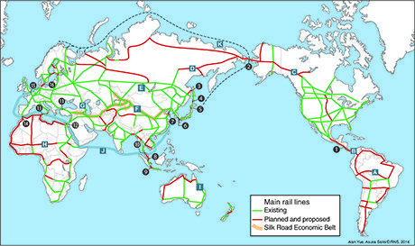 The World Landbridge Network - Key Links and Corridors