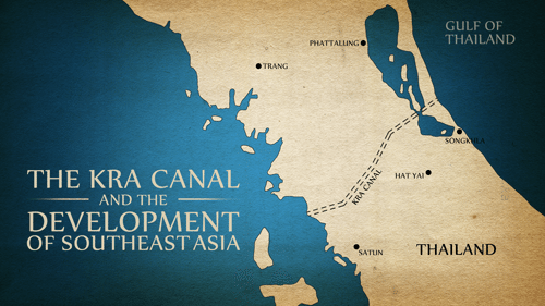 The LaRouche movement publishes a video detailing the proposal to build a canal through the Kra Isthmus of Thailand and the extended economic and strategic significance of the project for Southeast Asia