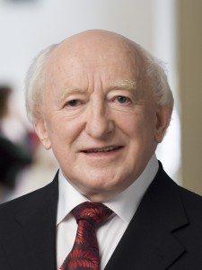 Michael D. Higgins, President of the Republic of Ireland
