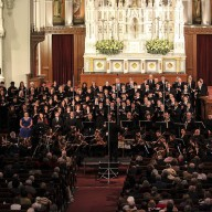 Conductor John Sigerson Readies the Ensemble
